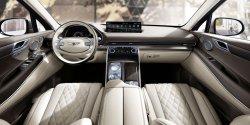 Genesis GV 80 (2021) - Изготовление лекала для салона и кузова авто. Продажа лекал (выкройки) в электроном виде на авто. Нарезка лекал на антигравийной пленке (выкройка) на авто.