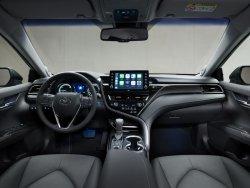 Toyota Camry (2021) - Изготовление лекала для салона и кузова авто. Продажа лекал (выкройки) в электроном виде на авто. Нарезка лекал на антигравийной пленке (выкройка) на авто.