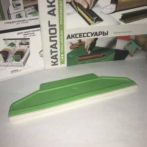 Ракель Rubber зелёный, мягкий