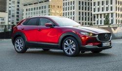 Mazda CX-30 (2021) - Изготовление лекала для салона и кузова авто. Продажа лекал (выкройки) в электроном виде на авто. Нарезка лекал на антигравийной пленке (выкройка) на авто.