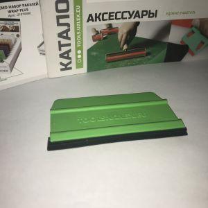 Ракель универсальный зелёный, мягкий