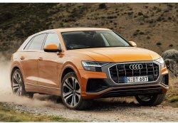 Audi Q8 2019 - Изготовление лекала (выкройка) на авто,  Нарезка лекал на антигравийной пленке (выкройка) на авто