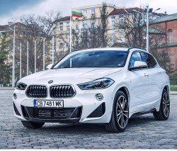 BMW X2 (2018) m  - Изготовление лекала (выкройка) для авто. Продажа лекал (выкройки) в электроном виде на авто. Нарезка лекал на антигравийной пленке (выкройка) на авто.