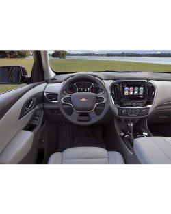 Chevrolet Traverse (2018) interior - Изготовление лекала для салона и кузова авто. Продажа лекал (выкройки) в электроном виде на авто. Нарезка лекал на антигравийной пленке (выкройка) на авто.