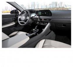 Hyundai Sonata (2019) - Изготовление лекала (выкройка) для салона авто. Продажа лекал (выкройки) в электроном виде на интерьер авто. Нарезка лекал на антигравийной пленке (выкройка) на авто.