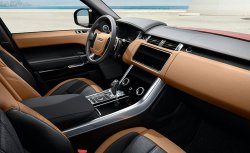 Land Rover Range Rover Sport (2018) - Изготовление лекала (выкройка) для салона авто