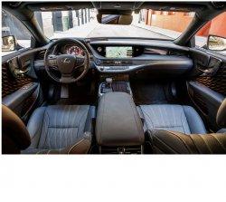 Lexus LS (2019)  - Изготовление лекала (выкройка) для авто. Продажа лекал (выкройки) в электроном виде на салон авто. Нарезка лекал на антигравийной пленке (выкройка) на авто.