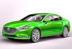 Mazda 6 (2018) - Изготовление лекала (выкройка) на авто