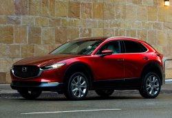 Mazda CX-30 (2020) - Изготовление лекала для салона и кузова авто. Продажа лекал (выкройки) в электроном виде на авто. Нарезка лекал на антигравийной пленке (выкройка) на авто.