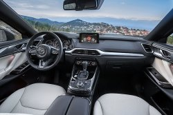 Mazda CX-9 (2018) Мазда  - Изготовление лекала для салона и кузова авто. Продажа лекал (выкройки) в электроном виде на авто. Нарезка лекал на антигравийной пленке (выкройка) на авто.