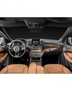 Mercedes-Benz GLE Coupe (2016) - Изготовление лекала (выкройка) для салона авто. Продажа лекал (выкройки) в электроном виде на салон авто. Нарезка лекал на антигравийной пленке (выкройка) на салон авто.
