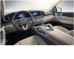 Mercedes-Benz GLS (2019)  - Изготовление лекала (выкройка) для авто. Продажа лекал (выкройки) в электроном виде на салон авто. Нарезка лекал на антигравийной пленке (выкройка) на авто.