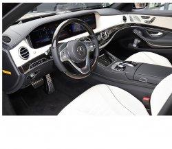 Mercedes-Benz S-class (2018) - Изготовление лекала (выкройка) для авто. Продажа лекал (выкройки) в электроном виде на салон авто. Нарезка лекал на антигравийной пленке (выкройка) на авто.