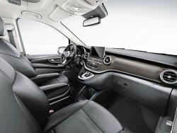 Mercedes-Benz V-Klasse (2018) - Изготовление лекала (выкройка) для салона авто
