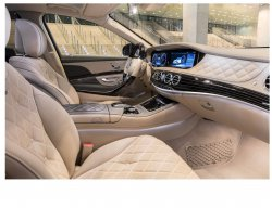 Mercedes-Maybach (2018)  - Изготовление лекала (выкройка) для авто. Продажа лекал (выкройки) в электроном виде на салон авто. Нарезка лекал на антигравийной пленке (выкройка) на авто.