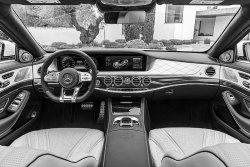Mercedes S-Class (2017)  - Изготовление лекала (выкройка) для салона авто. Продажа лекал (выкройки) в электроном виде на салон авто. Нарезка лекал на антигравийной пленке (выкройка) на салон авто.