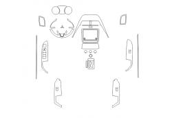 Mitsubishi ASX 2019 - Изготовление лекала авто. Продажа лекал (выкройки) в электроном виде на авто. Нарезка лекал на антигравийной пленке (выкройка) на авто.