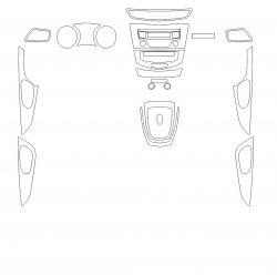 Nissan Qashqai (2019) салон МКПП - Изготовление лекала интерьера авто. Продажа лекал (выкройки) в электроном виде на авто. Нарезка лекал на антигравийной пленке (выкройка) на авто.