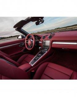 Porsche Boxster (2016)  - Изготовление лекала (выкройка) для салона авто. Продажа лекал (выкройки) в электроном виде на салон авто. Нарезка лекал на антигравийной пленке (выкройка) на салон авто.
