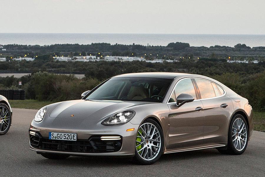 Лекало на Porsche Panamera (2017) turbo sport