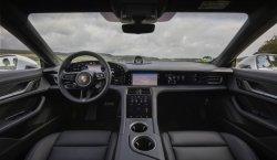 Porsche Taycan (2020) interior - Изготовление лекала для салона и кузова авто. Продажа лекал (выкройки) в электроном виде на авто. Нарезка лекал на антигравийной пленке (выкройка) на авто.
