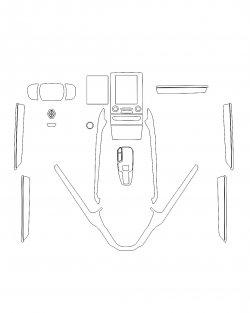 Renault Koleos (2018) - Изготовление лекала салона авто. Продажа лекал (выкройки) в электроном виде на авто. Нарезка лекал на антигравийной пленке (выкройка) на авто.
