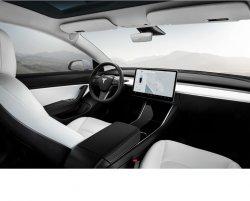 Tesla Model 3 (2018)  - Изготовление лекала (выкройка) для авто. Продажа лекал (выкройки) в электроном виде на салон авто. Нарезка лекал на антигравийной пленке (выкройка) на авто.