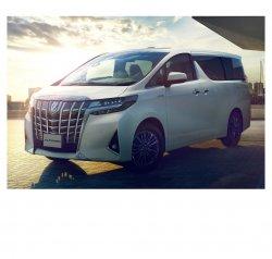 Toyota Alphard (2018) - Изготовление лекала авто. Продажа лекал (выкройки) в электроном виде на авто. Нарезка лекал на антигравийной пленке (выкройка) на авто.