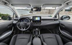 Toyota Corolla (2019)  - Изготовление лекала авто. Продажа лекал (выкройки) в электроном виде на авто. Нарезка лекал на антигравийной пленке (выкройка) на авто.