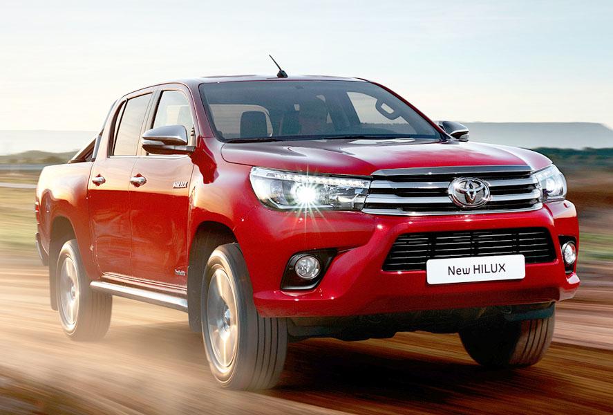 Лекало на Toyota Hilux (Тайота Хайлюкс)_2015 г.в.