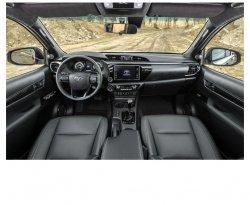 Toyota Hilux (2019) - Изготовление лекала (выкройка) для авто. Продажа лекал (выкройки) в электроном виде на салон авто. Нарезка лекал на антигравийной пленке (выкройка) на авто.