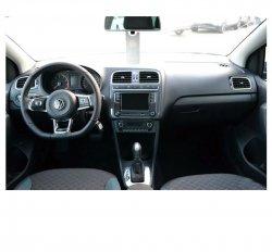 Volkswagen Polo (2018) - Изготовление лекала интерьера авто. Продажа лекал (выкройки) в электроном виде на авто. Нарезка лекал на антигравийной пленке (выкройка) на авто.