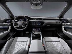 Audi E-tron (2020) - Изготовление лекала для салона и кузова авто. Продажа лекал (выкройки) в электроном виде на авто. Нарезка лекал на антигравийной пленке (выкройка) на авто.