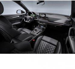 Audi Q5 (2017) - Изготовление лекала (выкройка) для интерьера авто. Продажа лекал (выкройки) в электроном виде на салон авто. Нарезка лекал на антигравийной пленке (выкройка) на авто.