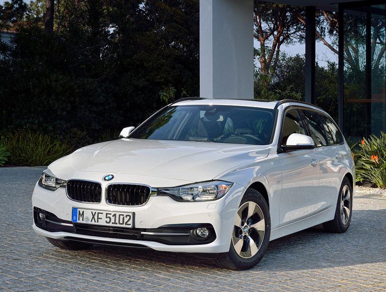 Лекало на  BMW 318i 2015.