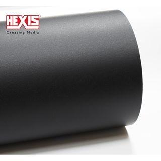 Пленка Hexis HXR150BGR (Текстурированный черный мат) 1,23 пог.м