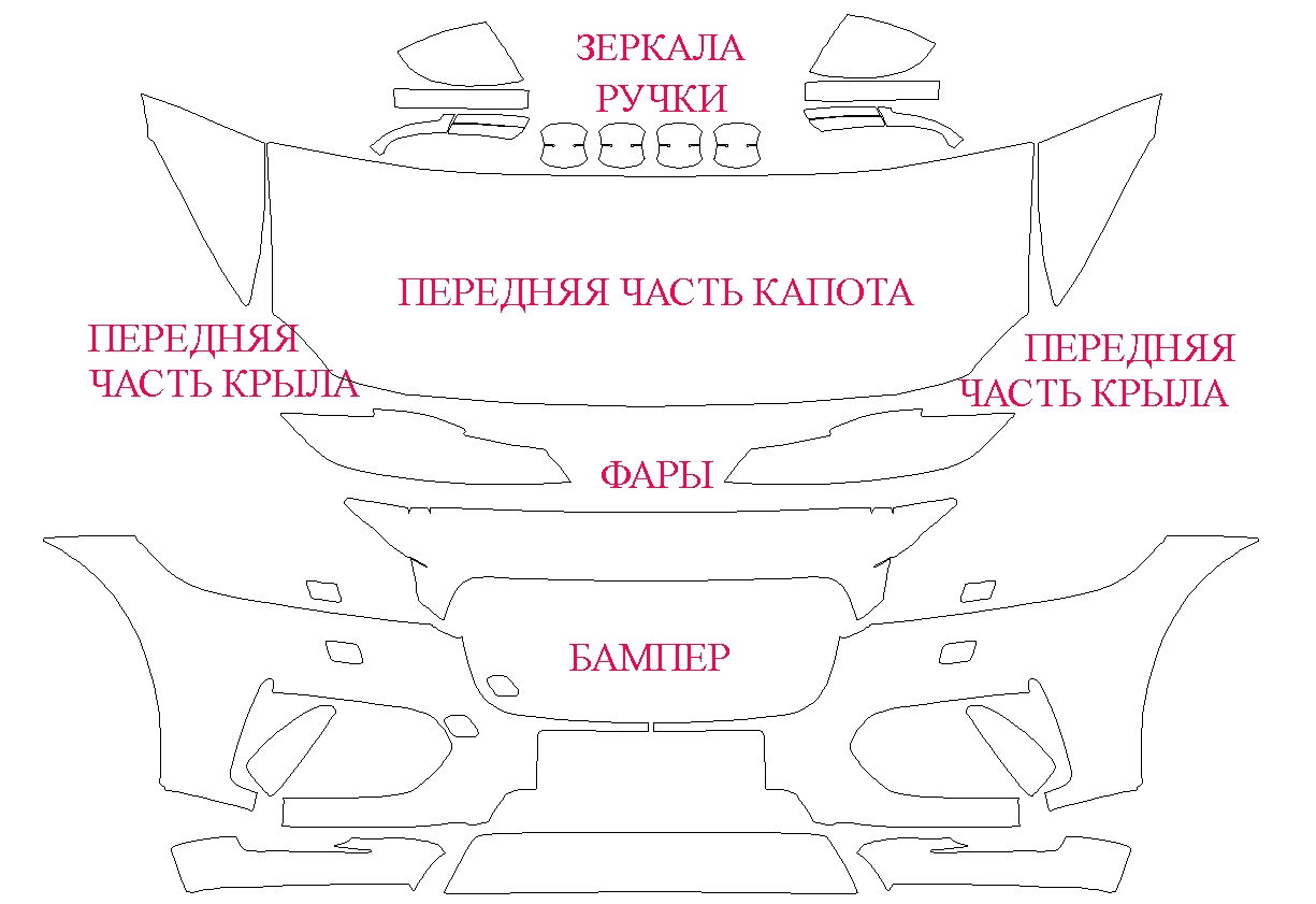 В продаже и в работе лекало на Jaguar F-Pace S (2016)
