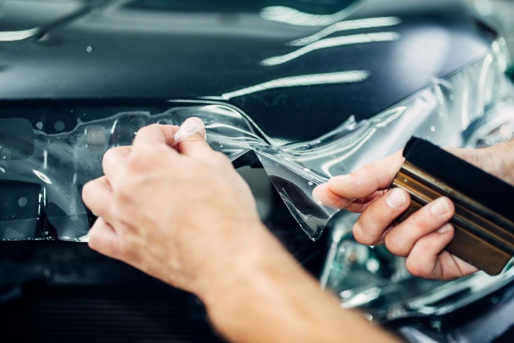 Выкройки из защитной пленки для автомобиля: технология изготовления и применение