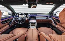 Mercedes Benz S-class (2021) - Изготовление лекала для салона и кузова авто. Продажа лекал (выкройки) в электроном виде на авто. Нарезка лекал на антигравийной пленке (выкройка) на авто.