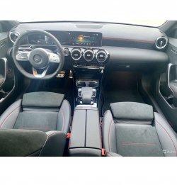 Mercedes-benz a-class (2019) - Изготовление лекала (выкройка) для авто. Продажа лекал (выкройки) в электроном виде на салон авто. Нарезка лекал на антигравийной пленке (выкройка) на авто.