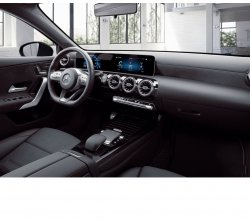 Mercedes-benz CLA class (2019) - Изготовление лекала (выкройка) для авто. Продажа лекал (выкройки) в электроном виде на салон авто. Нарезка лекал на антигравийной пленке (выкройка) на авто.
