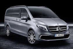 Mercedes benz V klasse Exclusive Line 2019 Мерседес бенс В класс - Изготовление лекала для салона и кузова авто. Продажа лекал (выкройки) в электроном виде на авто. Нарезка лекал на антигравийной пленке (выкройка) на авто.