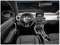 Mercedes-benz X-class (2018)  - Изготовление лекала (выкройка) для авто. Продажа лекал (выкройки) в электроном виде на авто. Нарезка лекал на антигравийной пленке (выкройка) на авто