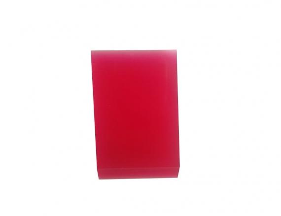 Ракель Полиуретановый красный маленький ракель