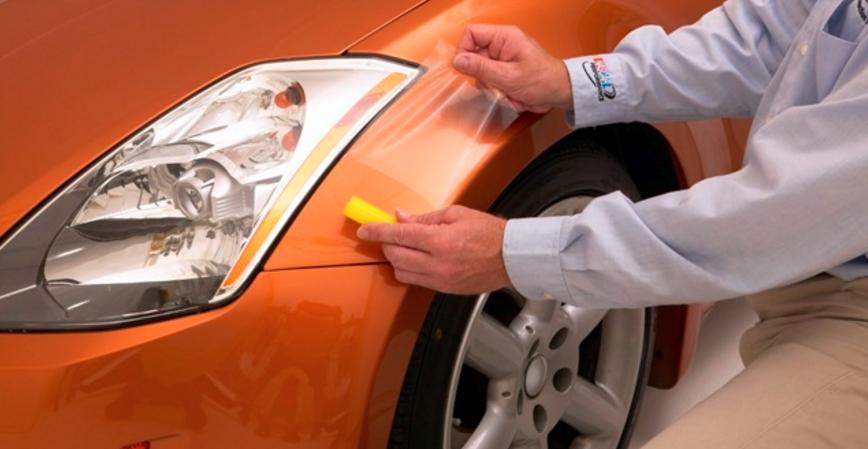 Основные методы защиты кузова автомобиля от гравия