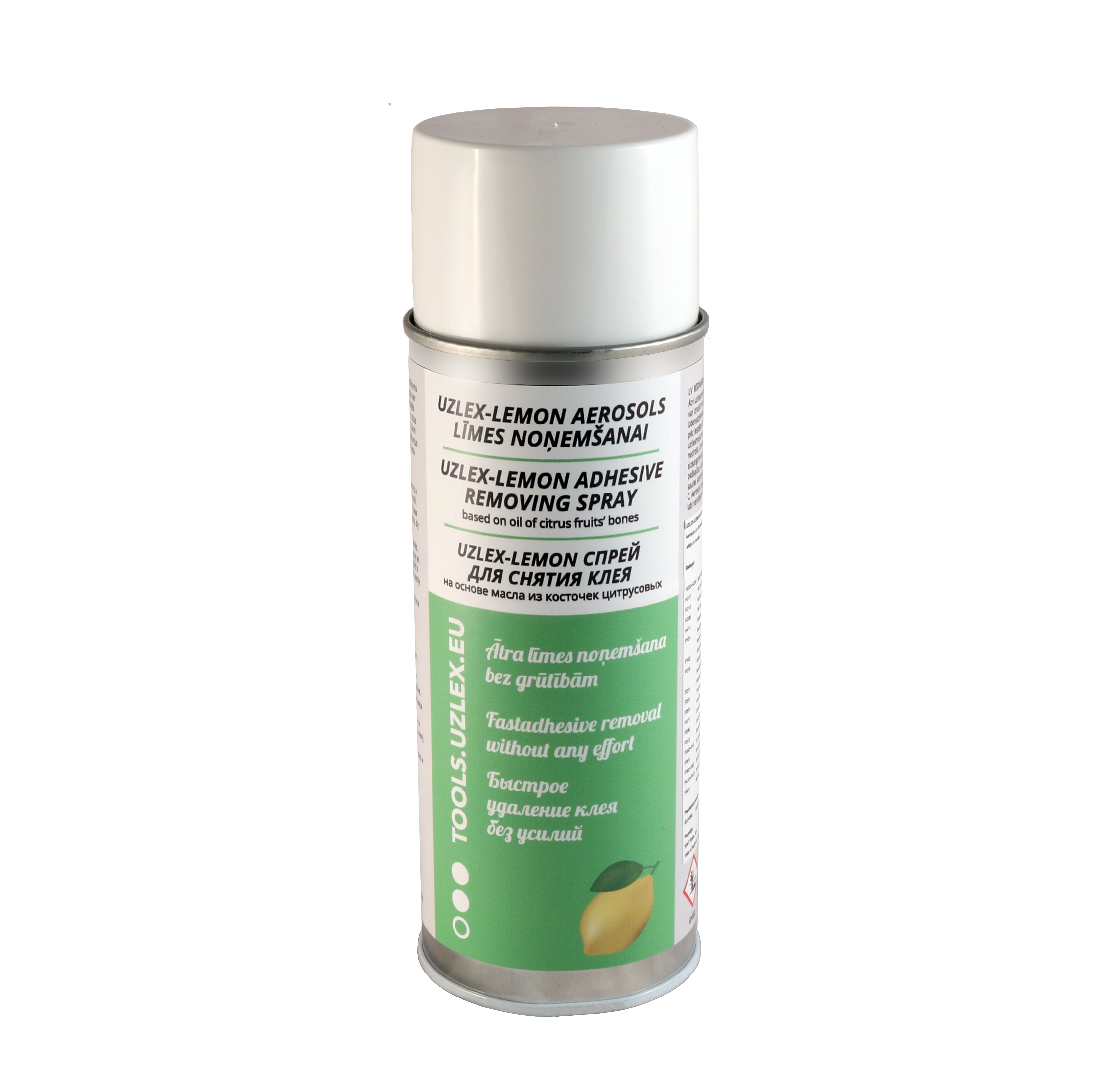 Цитрусовый спрей для снятия акрилового клея (ЛИМОНКА), 400 мл + L-Edge скребок