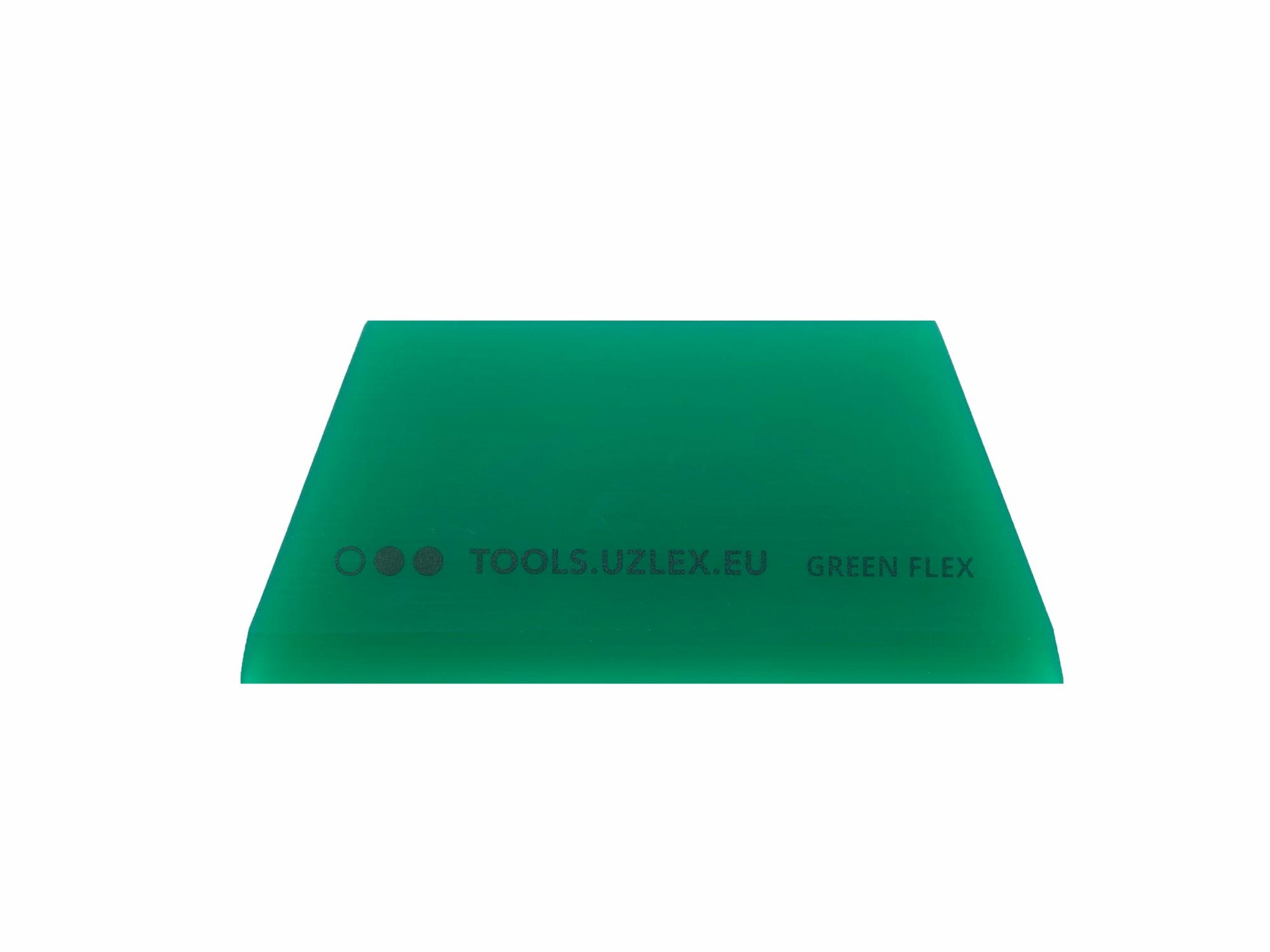 Ракель-трапеция GREEN-FLEX (средней жесткости) для полиуретановых пленок