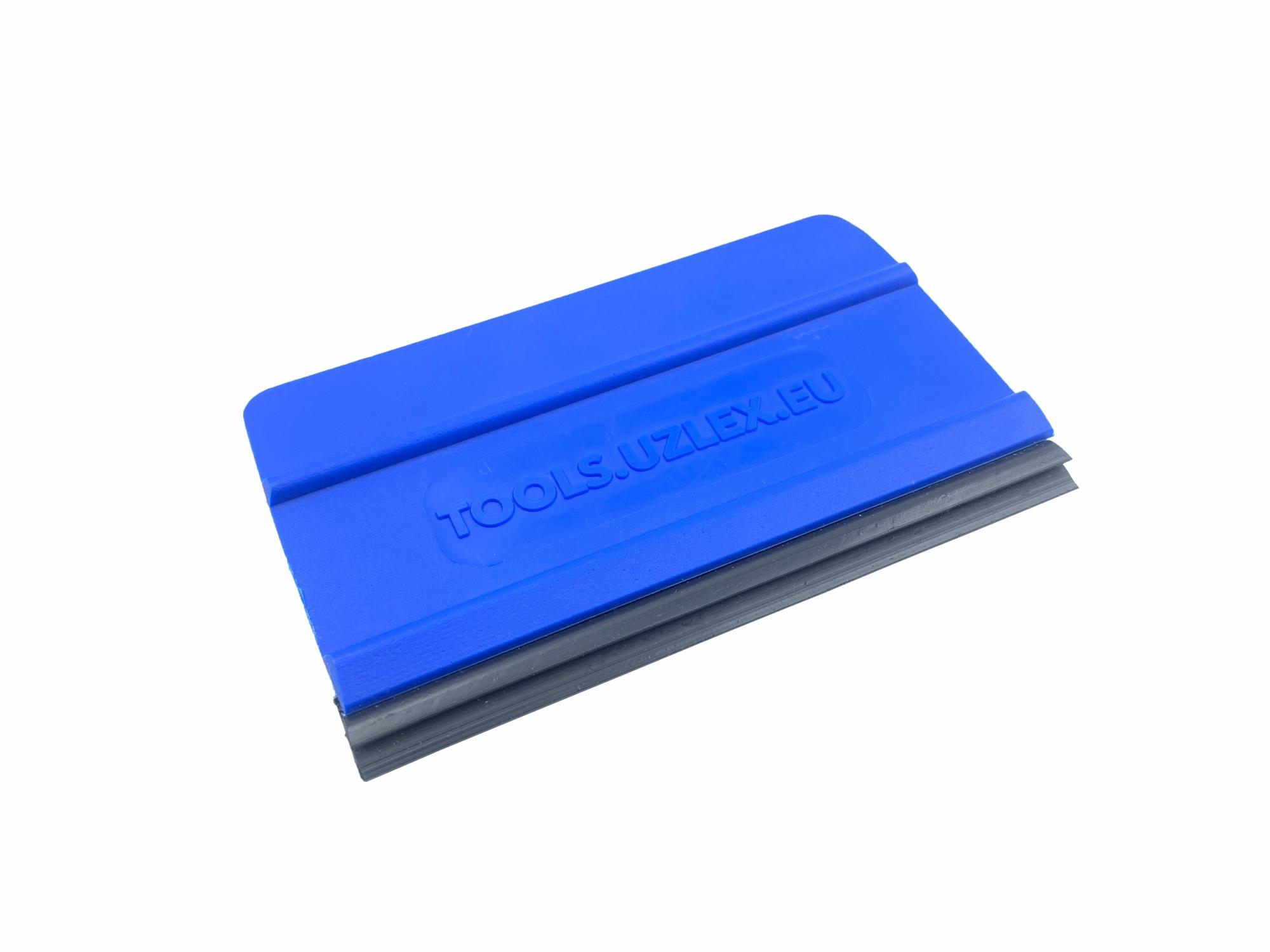 Ракель универсальный средней жесткости синий